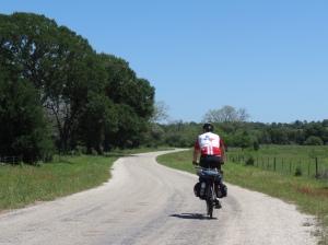 Rich cycled farm road