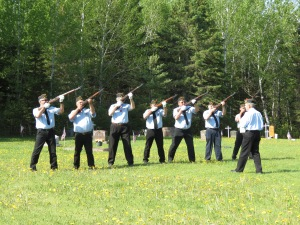 Memorial Day 21 gun salute