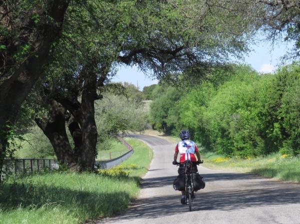 Molly cycling Texas