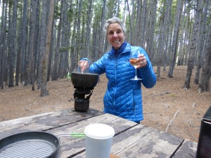 Yellowstone Molly cooking dinner