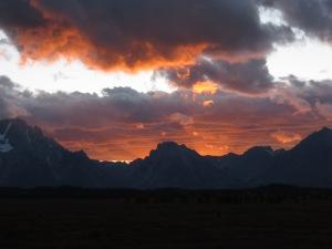 Tetons Sunset 2