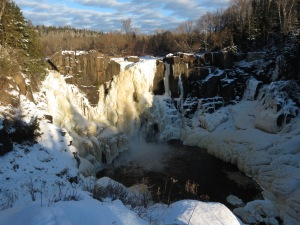 High Falls in winter