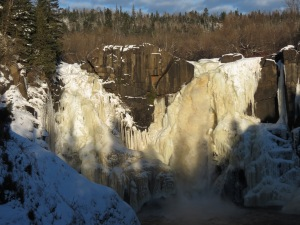 High Falls closeup