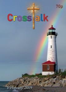 Crosstalk parish magazine with Crisp Point Lighthouse