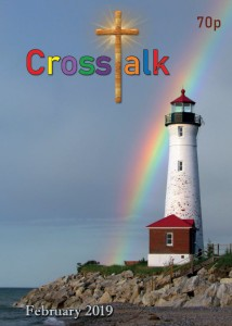 Crosstalk parish magazine with Crisp Point Lighthouse