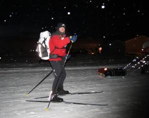 Skier in Arrowhead 135