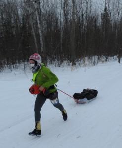 Runner in Arrowhead 135