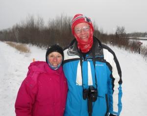 Molly and Rich at Arrowhead 135