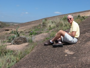 Rich on Enchanted Rock
