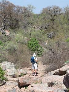 Rich on Echo Canyon Trail