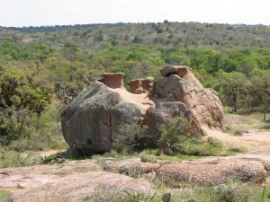Enchanted Rock formations