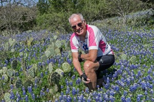 Rich w Texas bluebonnets Willow City Loop