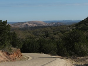 View of Enchanted Rock