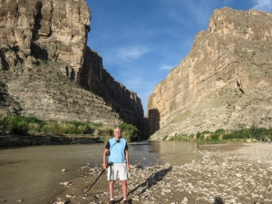 Rich at Santa Elena Canyon