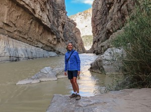 Molly in Santa Elena Canyon