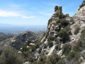 Mt Lemmon rocky view