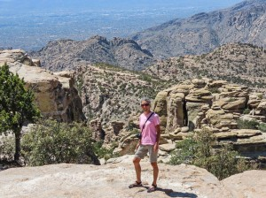 Molly at Windy Point Mt Lemmon 2