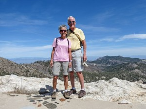 Molly and Rich Mt Lemmon Lookout 1