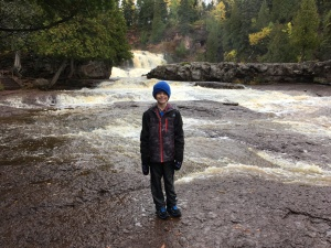Ben at Gooseberry Falls