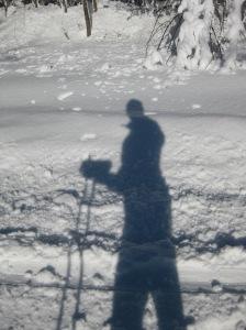 Blizzard XC skiing 4