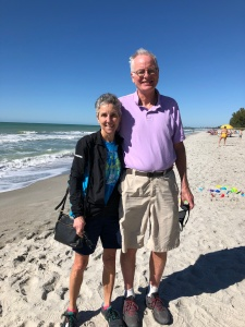 Molly and Rich on Captiva beach
