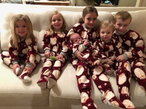 Grandkids in Grammy Jammies