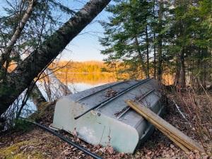 Cabin old boat