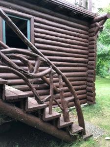 Joyce Estate sauna railing