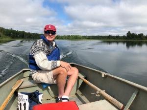 Leaving Trout Lake