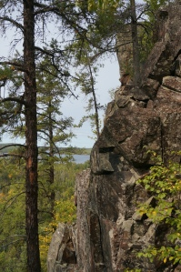High Cliff over Gunflint Lake 1