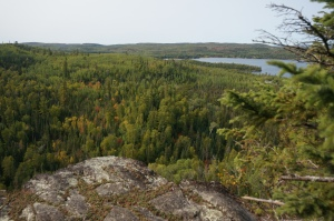 High Cliff over Gunflint Lake 2
