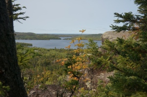 High Cliff over Gunflint Lake 3
