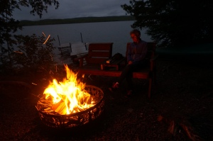 Gunflint Lake Campsite