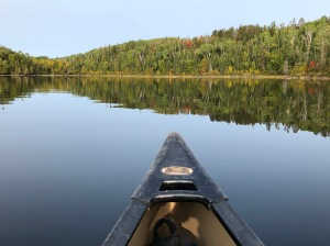 Canoeing Gunflint Lake