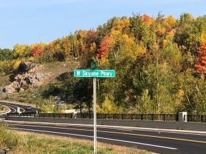 Skyline Drive fall colors 3