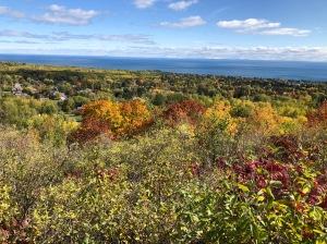 Hawk Ridge fall view