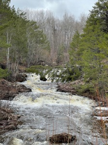 Amity Creek above Smiley Falls